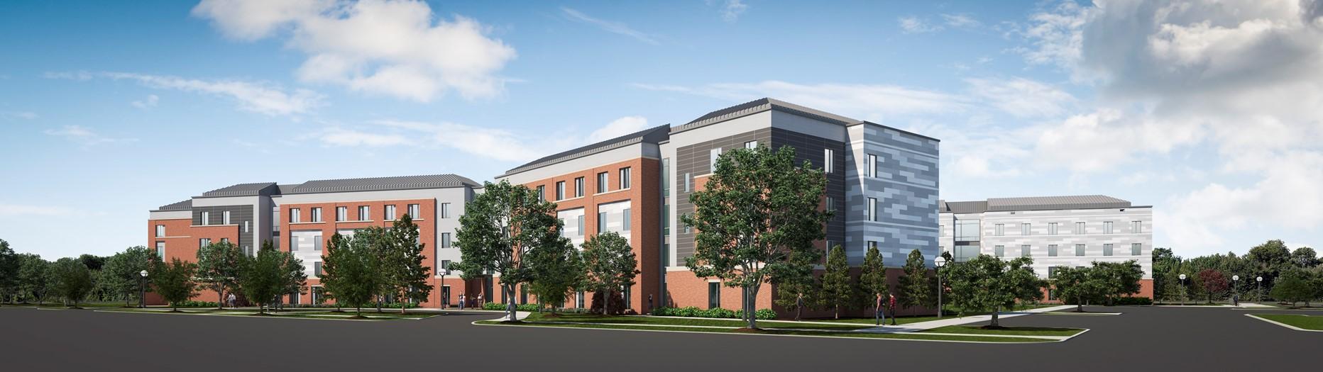 NSU New Residence Hall