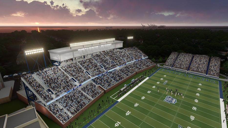 ODU S.B. Ballard Stadium Reconstruction